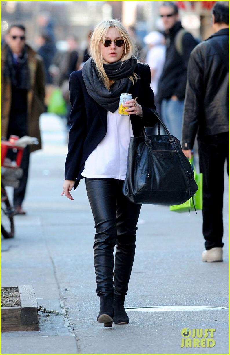 Dakota's leather look