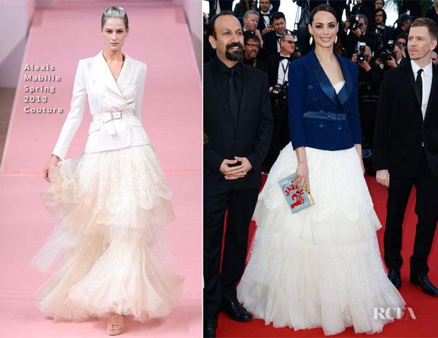 Berenice-Bejo-In-Alexis-Mabille-Couture-'Le-Passe'-Cannes-Film-Festival-Premiere