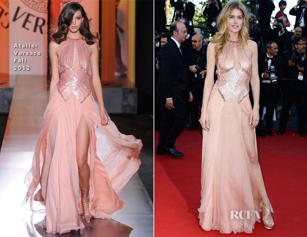 Doutzen-Kroes-In-Atelier-Versace-'Le-Passe'-Cannes-Film-Festival-Premiere