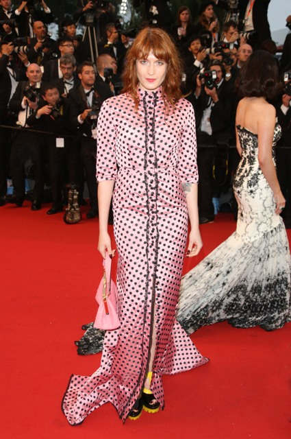 66th Cannes Film Festival - Opening ceremony and Great Gatsby premiereFeaturing: Florence Welch,Florence and the MachineWhere: Cannes, FranceWhen: 15 May 2013Credit: Lia Toby/WENN.com