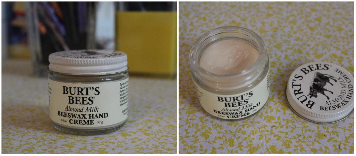 burt bee's almond milk beeswax hand creme