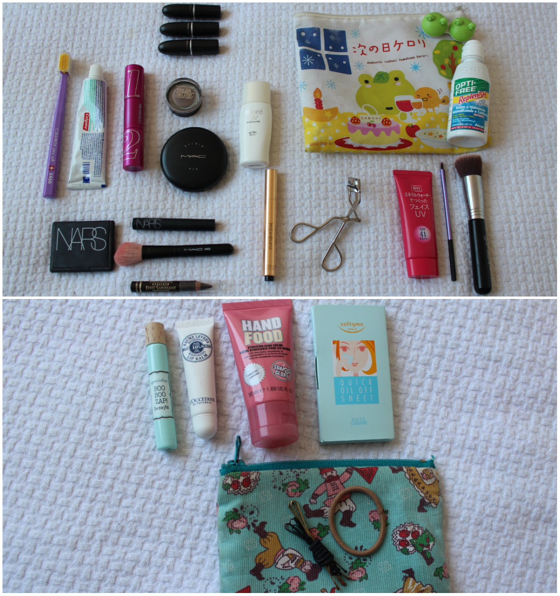 what's in your bag thais 2