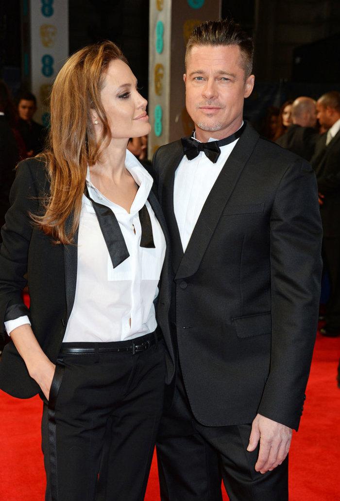 Angelina-Jolie-Brad-Pitt-BAFTA-Awards-2014
