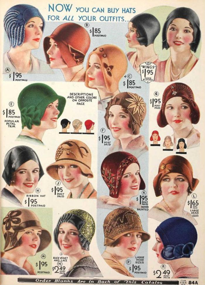 década de 20 e os cabelos 10