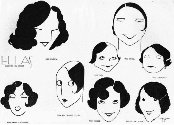 década de 20 e os cabelos 11
