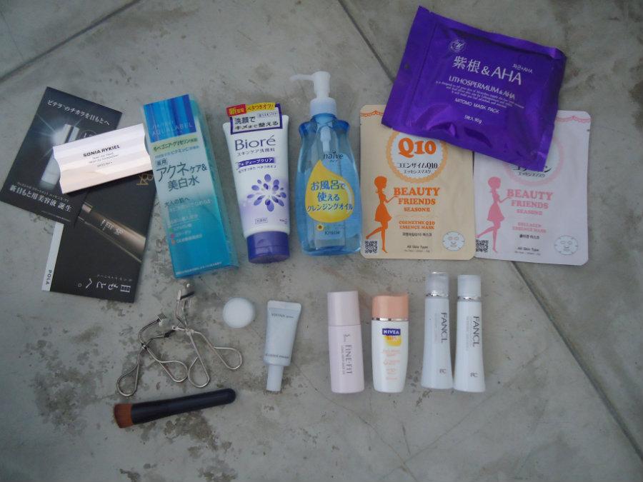 comprando cosméticos asiáticos