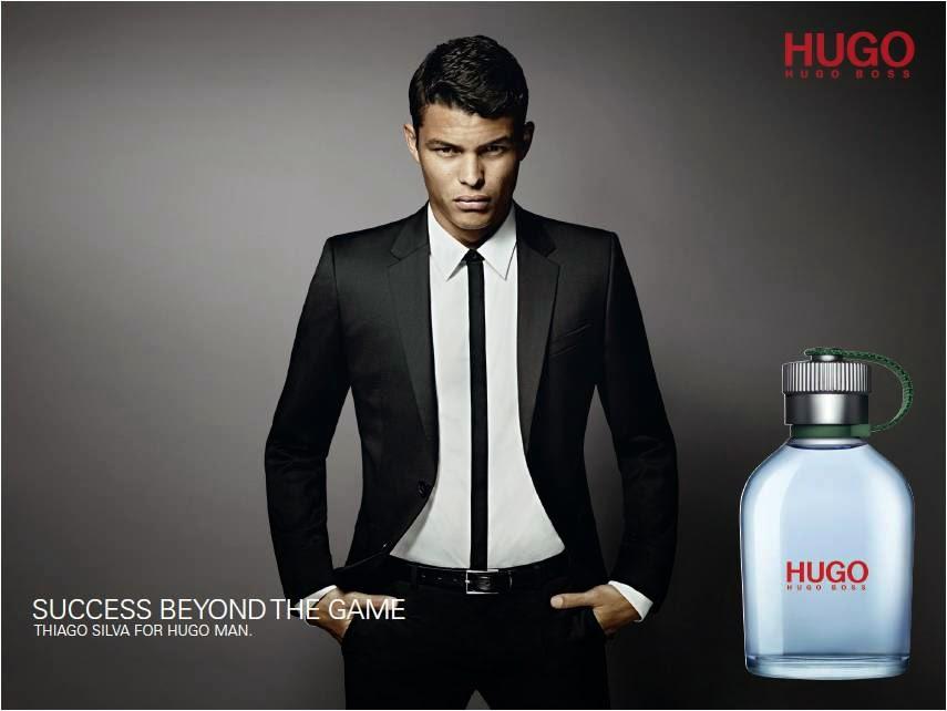 Thiago Silva For HUGO MAN