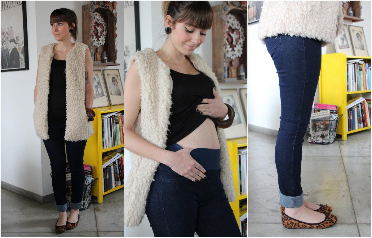 calça jeans para grávidas 1