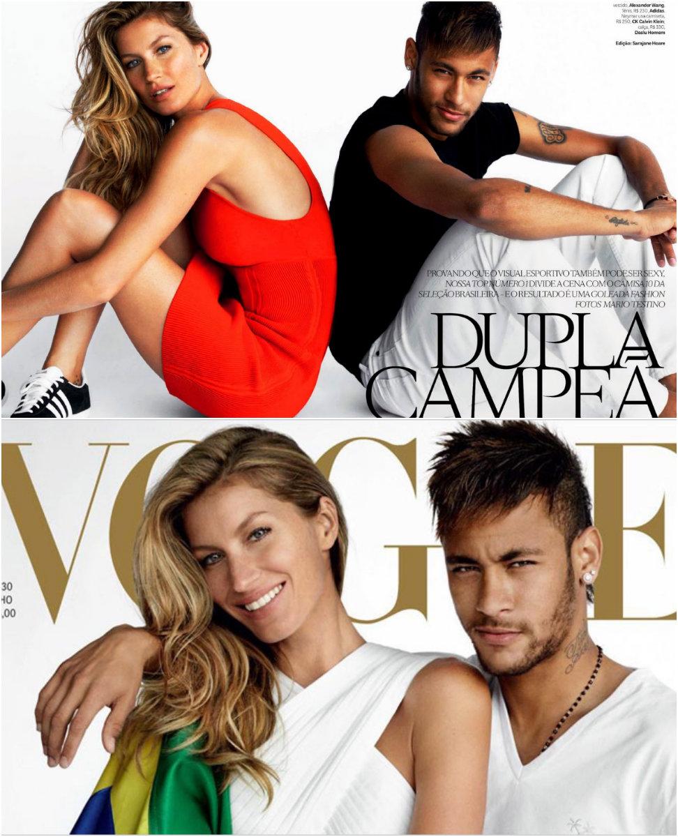 neymar capa vogue junho