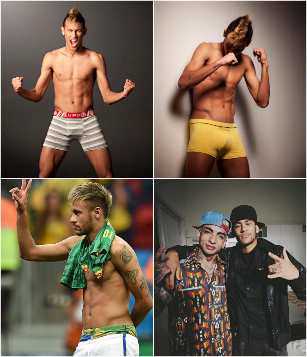 neymar pelo mundo da moda