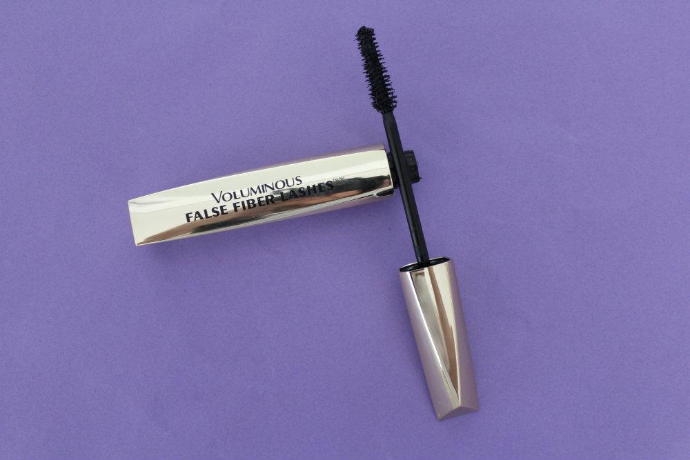 voluminous false fiber lashes l'oréal 0