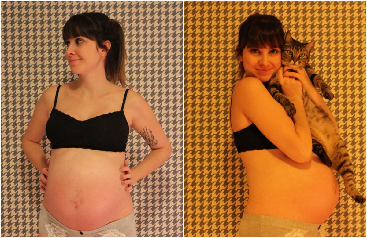 33 semanas barrigão 1