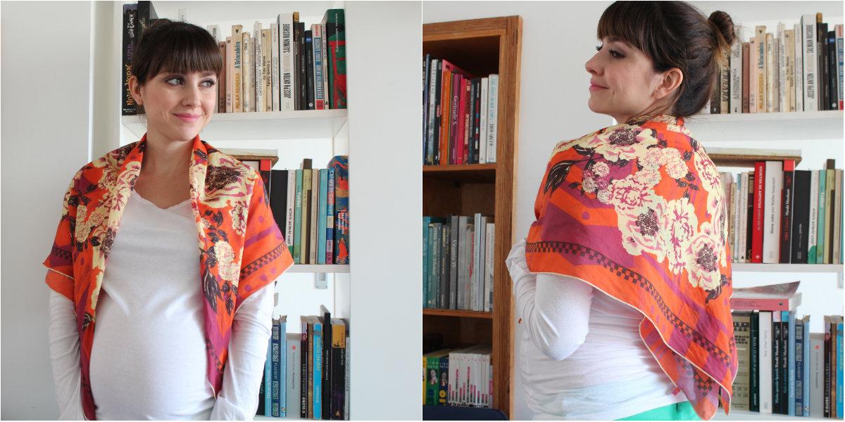 como usar lenço jeito 3