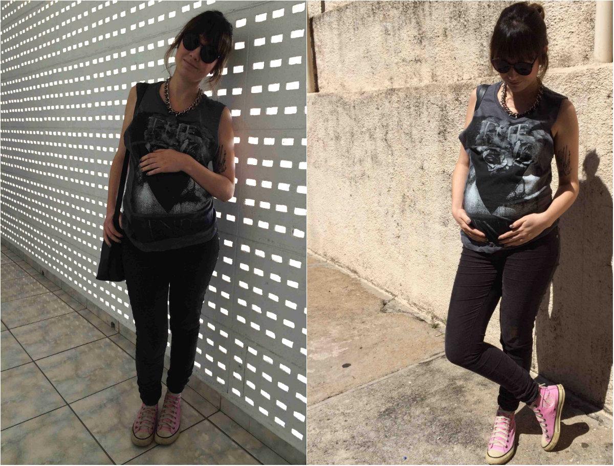 look semana 32 de gravidez thais farage 4