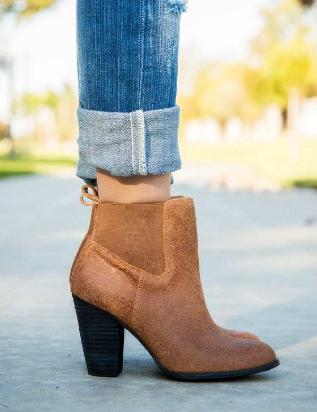 como usar ankle boot marrom 1