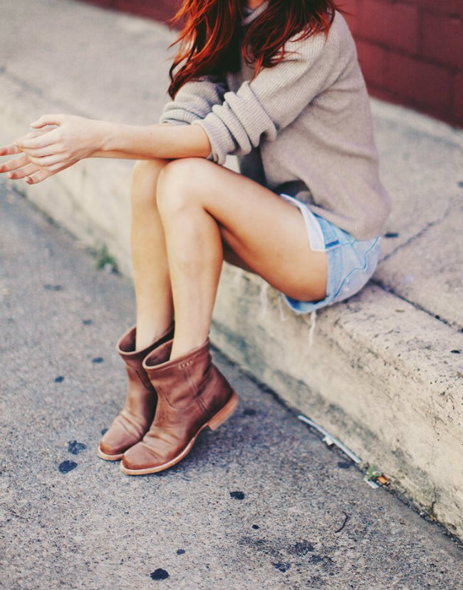 como usar ankle boot marrom 2