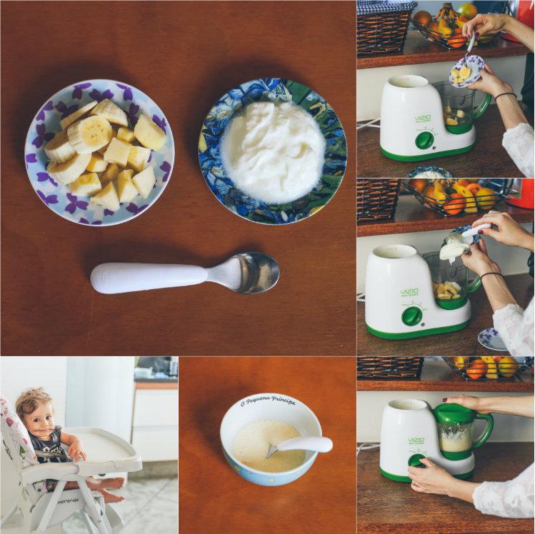iogurte para bebês