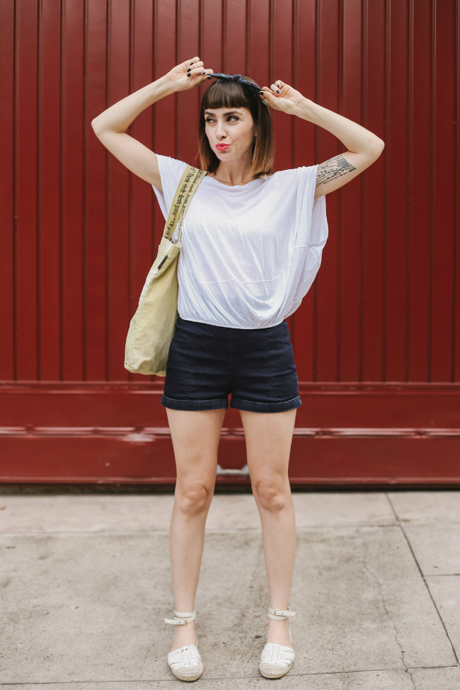 roupa branca short e camiseta
