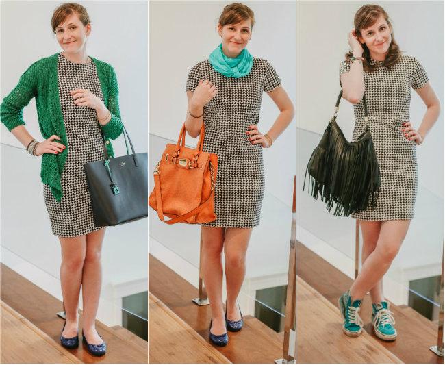 um vestido 3 looks