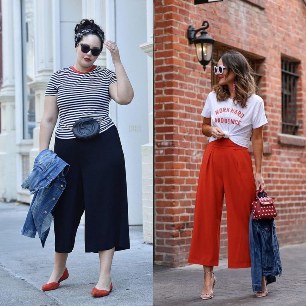 styling em dois exemplos de look