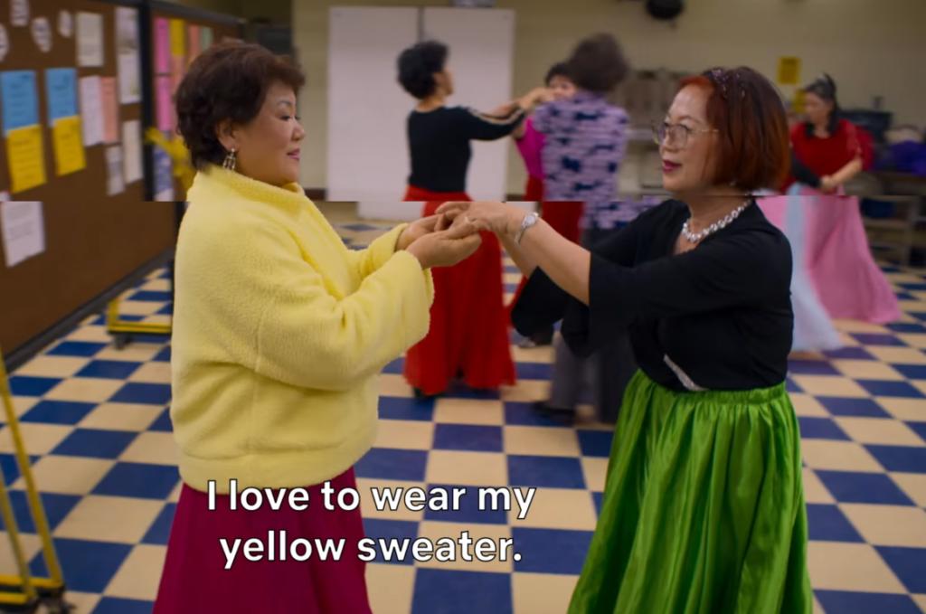 Histórias para vestir - suéter amarelo